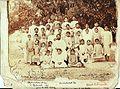Rabindranath Tagore with Brahmacharyashrama boys, Santiniketan, 1903.jpg