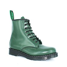 5ae13e8c381 Solovair 8 eye Derby boot in Racing Green