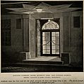 Radcliffe Infirmary, Oxford; the doorway of the maternity ho Wellcome V0014894.jpg