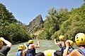 Rafting sur le Verdon Approche des rapides.jpg