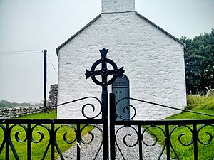 Rahan, County Offaly - Image: Rahan Old Church 2