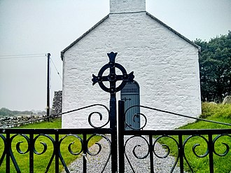 Rahan, County Offaly - Image: Rahan Old Church 2