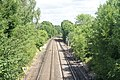 Railway Track Near Leatherhead, Surrey - geograph.org.uk - 1394537.jpg