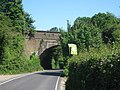 Railway bridge over Pilgrims Way - geograph.org.uk - 1331559.jpg