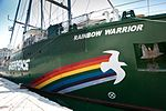 Greenpeaceov brod Rainbow Warrior III u Rijeci