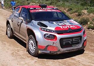Citroën C3 R5 French rally car