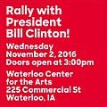Rally with President Bill Clinton (November 2, 2016).jpg