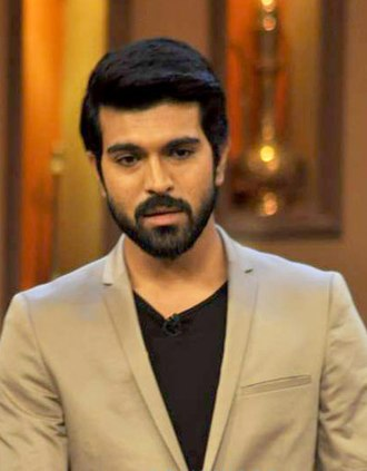 Bruce Lee - The Fighter - Image: Ram Charan promoting Zanjeer