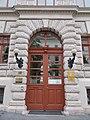 Raoul Wallenberg School. Street door. - Ludovika square, Budapest District VIII.JPG