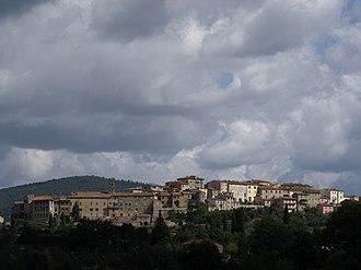 Rapolano Terme - Image: Rapolano Terme Panorama 1