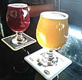 Raspberry and peach lambic.jpg