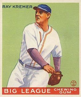 Ray Kremer American baseball player