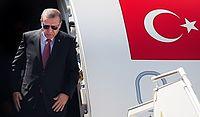 Recep Tayyip Erdoğan arriving in Tehran's Mehrabad International Airport.jpg
