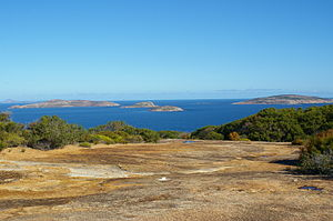Recherche Archipelago - View of the Recherche Archipelago from Dempster Head