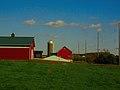 Red Barns and a Silo - panoramio.jpg