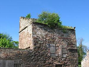 Redhouse Castle - Image: Redhouse Castle Doocot