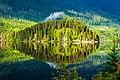 Reflecions on Sand Lake on the Nisga'a Hwy to Terrace, BC - (21370502978).jpg
