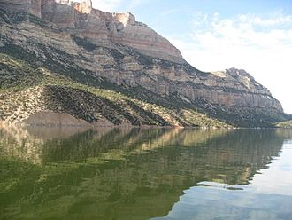 Bighorn Canyon National Recreation Area - Bighorn Lake in the South District