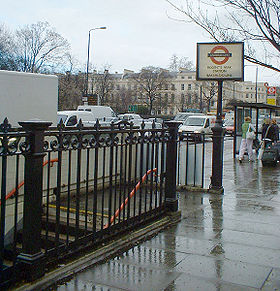 Image illustrative de l'article Regent's Park (métro de Londres)