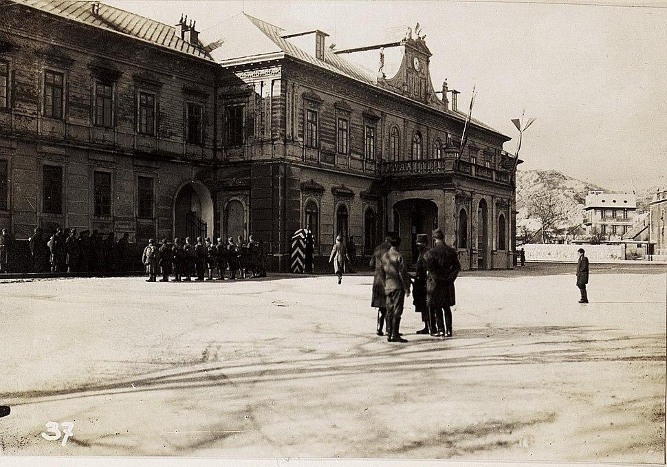 Regierungsgebäude in Cetinje. (BildID 15570535)