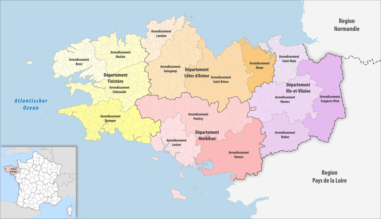 Arrondissement of Rennes - Wikipedia