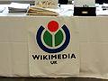 Registration stall at GLAM-Wiki 2013.JPG