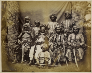 Sultanate of Lahej - Family of the Sultan of Lahej (mid-1870s)