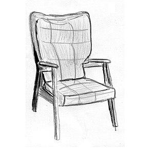 René-Jean Caillette - Image: René Jean Caillette meubles 1951b fauteuil