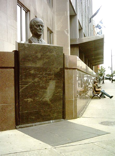 Monument à René Lévesque