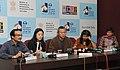Renowned South Korean Film maker Mr. Kim Ki Duk addressing the press conference, at the 43rd International Film Festival of India (IFFI-2012), in Panaji, Goa on November 21, 2012.jpg