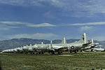 Retired P-3C Orions at Davis-Monthan AFB in March 2015.JPG