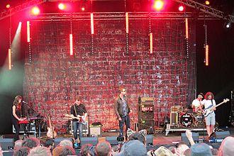 Reverend and The Makers - Reverend and The Makers performing in August 2012