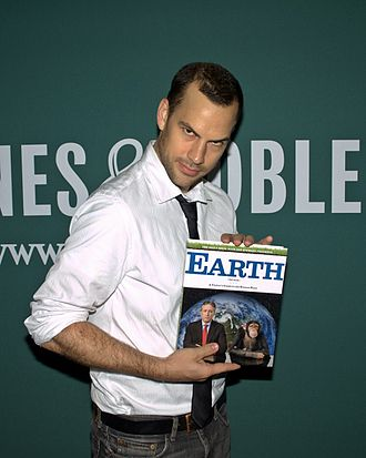 Rich Blomquist - Blomquist at the launch of Earth, which he helped write.