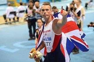 Richard Kilty British sprinter