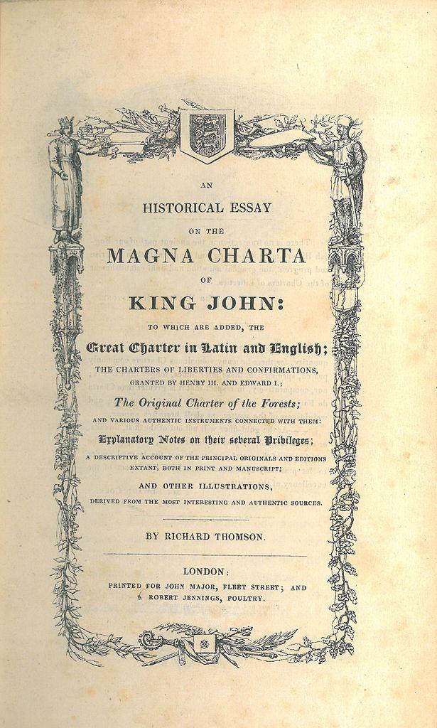 King john essay