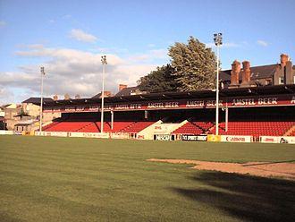 Richmond Park (football ground) - Image: Richmond Park Dublin