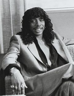 Rick James Rick James in Lifestyles of the Rich 1984.JPG