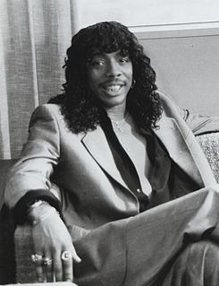 Rick James American singer, songwriter, dancer, bandleader and record producer