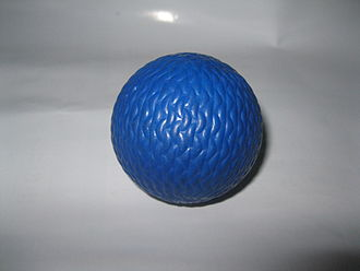 Blue - In rinkball a blue ball is used