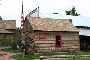 La Veta, Colorado - Old Ritter Schoolhouse, built 1876