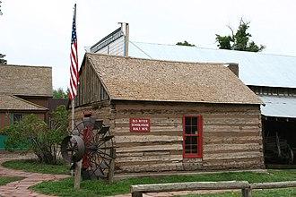 La Veta, Colorado - Old Ritter Schoolhouse, built 1876