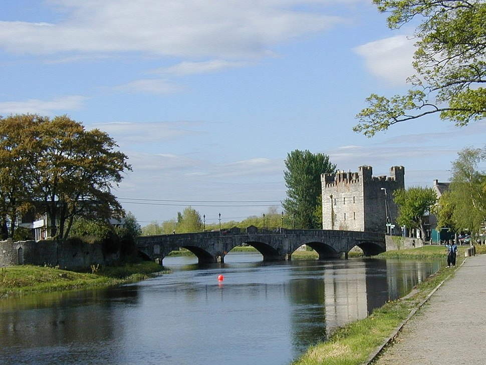 River Barrow and WhitesCastle Athy