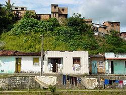 Riverside Scene at Santo Amaro - Near Salvador - Bahia - Brazil.jpg