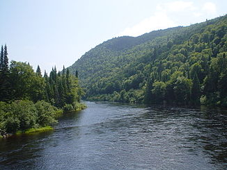 Rivière Jacques-Cartier im Parc national de la Jacques-Cartier