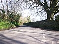 Road down to Amroth Castle from Amroth Church - geograph.org.uk - 1240957.jpg