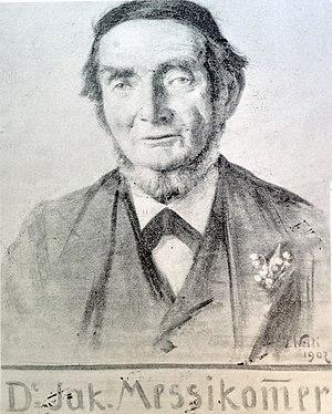 Jakob Messikommer - Dr. Jak. Messikommer, 1902 portrait by J. Welti