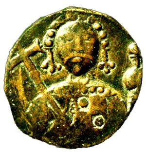 Battle of Dyrrhachium (1081) - Coin of Robert Guiscard.