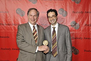 Radiolab - Robert Krulwich and Jad Abumrad at the 70th Annual Peabody Awards