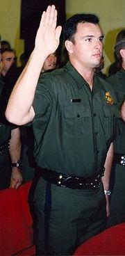 Robert MacLean Federal Law Enforcement Training Center graduation oath