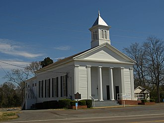 Robinson Springs United Methodist Church - Image: Robinson Springs Methodist Church March 2010 02